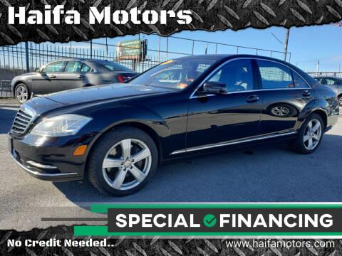 2011 Mercedes-Benz S-Class for sale at Haifa Motors in Philadelphia PA