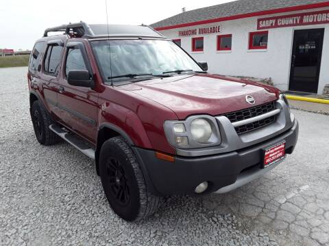 2004 Nissan Xterra for sale at Sarpy County Motors in Springfield NE