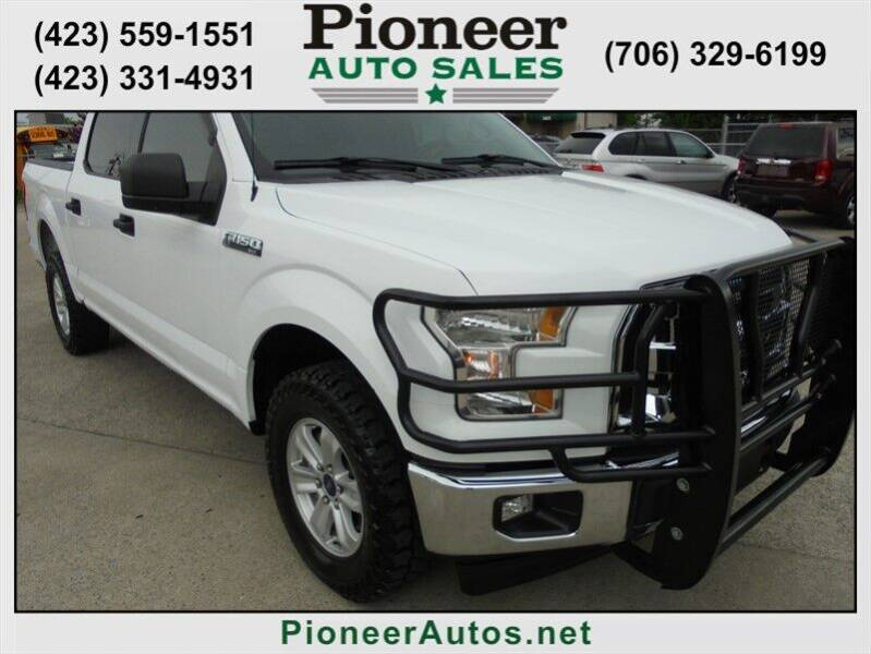 2017 Ford F-150 for sale at PIONEER AUTO SALES LLC in Cleveland TN