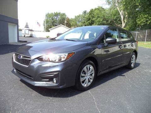 2017 Subaru Impreza for sale at Niewiek Auto Sales in Grand Rapids MI