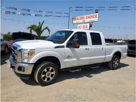 2016 Ford F-250 Super Duty for sale at Dealers Choice Inc in Farmersville CA