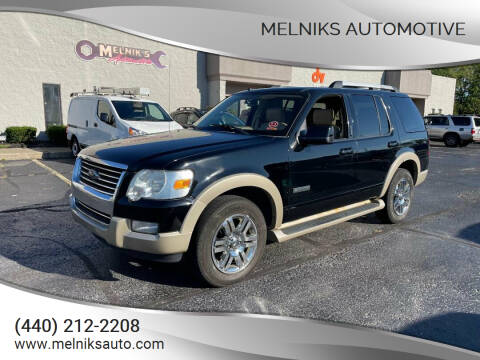 2007 Ford Explorer for sale at Melniks Automotive in Berea OH
