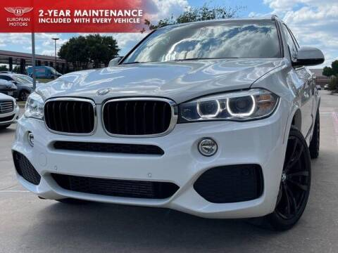 2018 BMW X5 for sale at European Motors Inc in Plano TX