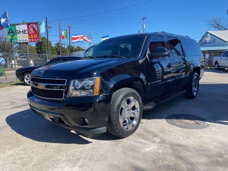 2007 Chevrolet Suburban for sale at ASHE AUTO SALES, LLC. in Dallas TX