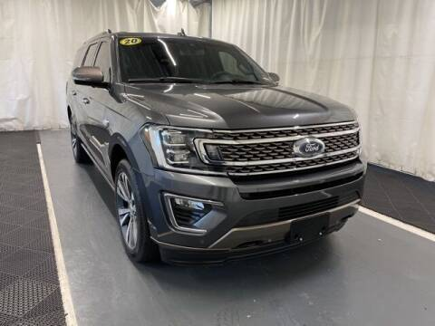 2020 Ford Expedition MAX for sale at Monster Motors in Michigan Center MI