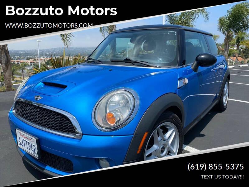2009 MINI Cooper for sale at Bozzuto Motors in San Diego CA