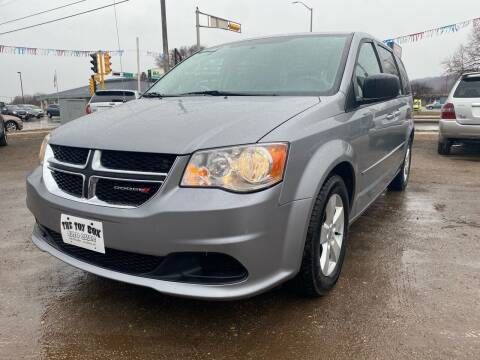 2013 Dodge Grand Caravan for sale at Toy Box Auto Sales LLC in La Crosse WI