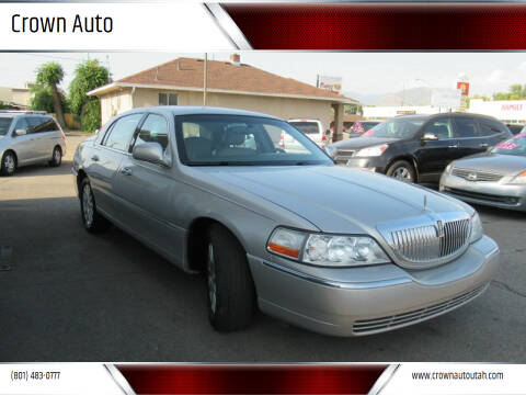 2007 Lincoln Town Car for sale at Crown Auto in South Salt Lake City UT