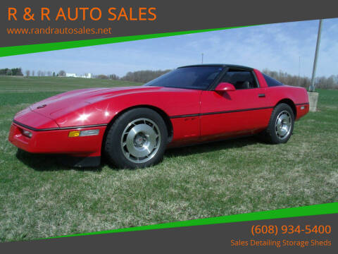 1987 Chevrolet Corvette for sale at R & R AUTO SALES in Juda WI
