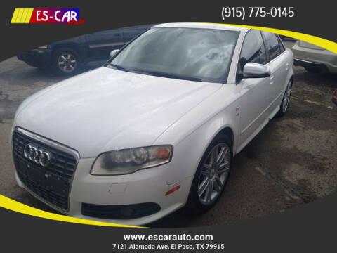 2007 Audi S4 for sale at Escar Auto in El Paso TX