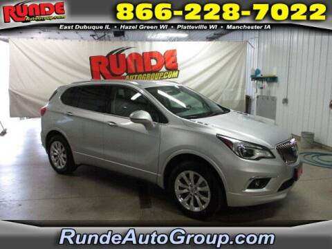 2017 Buick Envision for sale at Runde PreDriven in Hazel Green WI