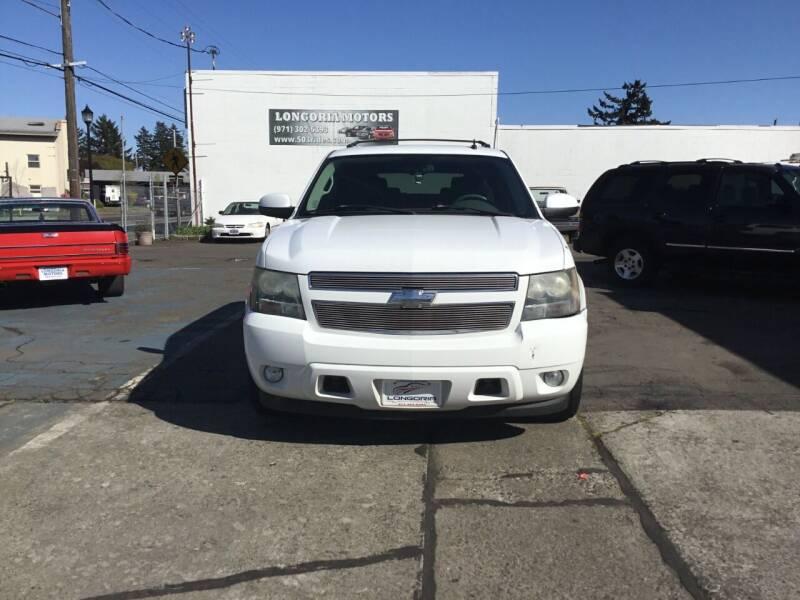 2008 Chevrolet Tahoe for sale at Longoria Motors in Portland OR