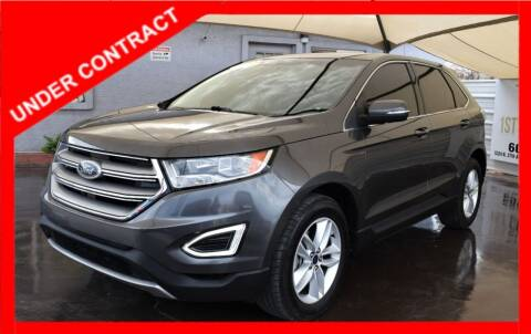 2015 Ford Edge for sale at 1st Class Motors in Phoenix AZ
