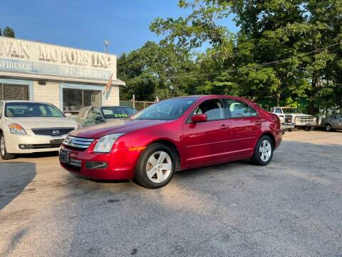 2009 Ford Fusion for sale at Lucien Sullivan Motors INC in Whitman MA