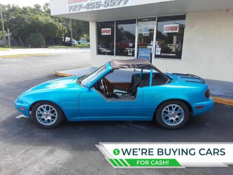 1990 Mazda MX-5 Miata for sale at 2020 AUTO LLC in Clearwater FL