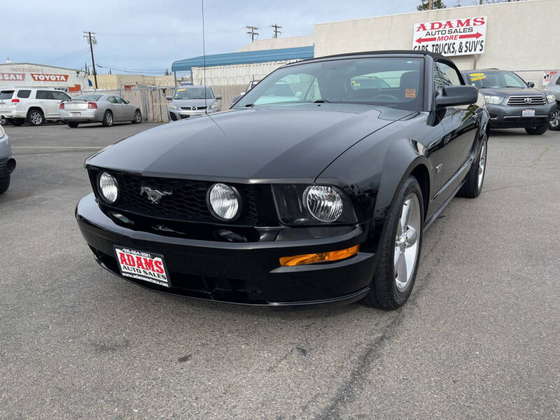 2008 Ford Mustang for sale at Adams Auto Sales in Sacramento CA