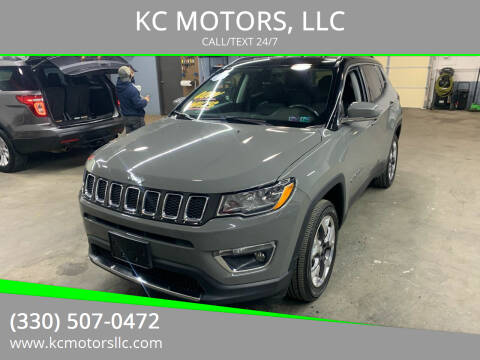 2019 Jeep Compass for sale at KC MOTORS, LLC in Boardman OH