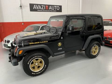 2006 Jeep Wrangler for sale at AVAZI AUTO GROUP LLC in Gaithersburg MD