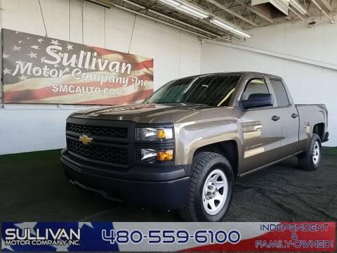 2014 Chevrolet Silverado 1500 for sale at SULLIVAN MOTOR COMPANY INC. in Mesa AZ