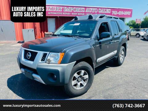 2011 Nissan Xterra for sale at LUXURY IMPORTS AUTO SALES INC in North Branch MN