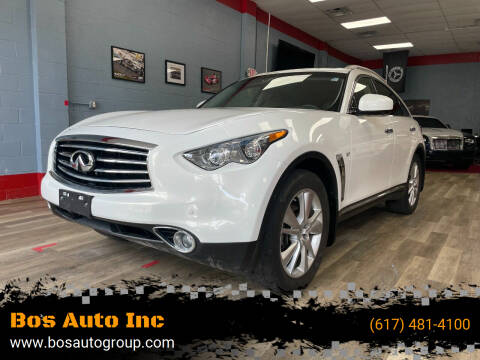 2016 Infiniti QX70 for sale at Bos Auto Inc in Quincy MA