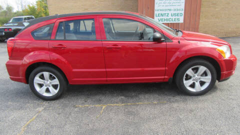 2011 Dodge Caliber for sale at LENTZ USED VEHICLES INC in Waldo WI
