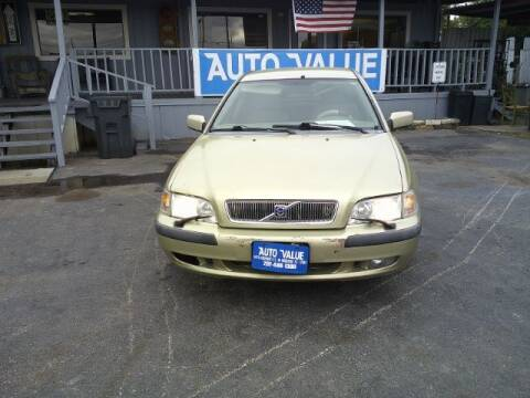 2001 Volvo S40 for sale at AUTO VALUE FINANCE INC in Stafford TX
