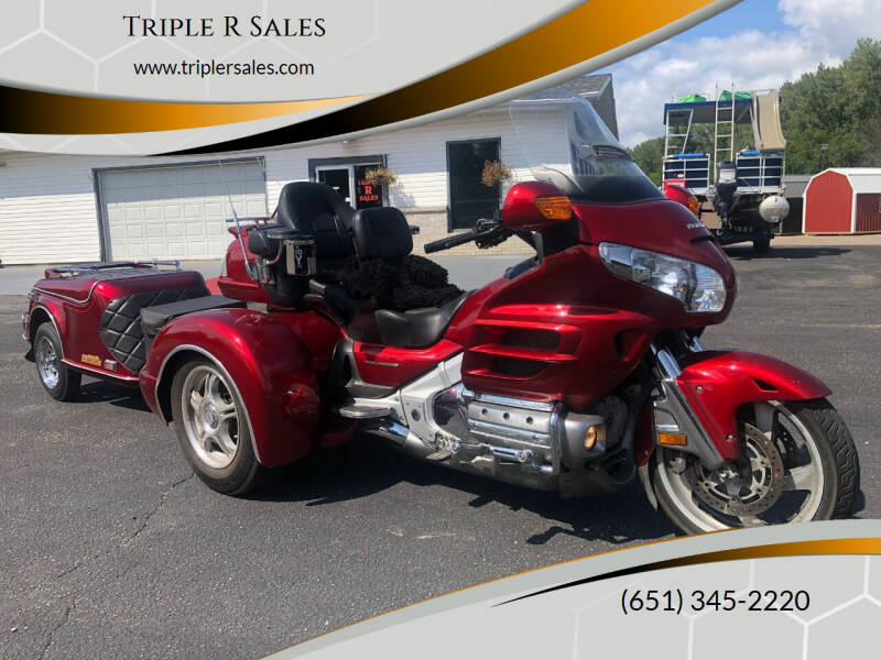 2008 Honda Goldwing for sale at Triple R Sales in Lake City MN