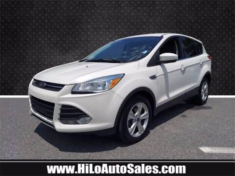 2016 Ford Escape for sale at Hi-Lo Auto Sales in Frederick MD