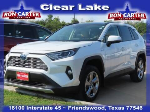 2020 Toyota RAV4 Hybrid for sale at Ron Carter  Clear Lake Used Cars in Houston TX