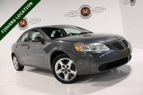 2007 Pontiac G6 for sale at Unlimited Motors in Fishers IN