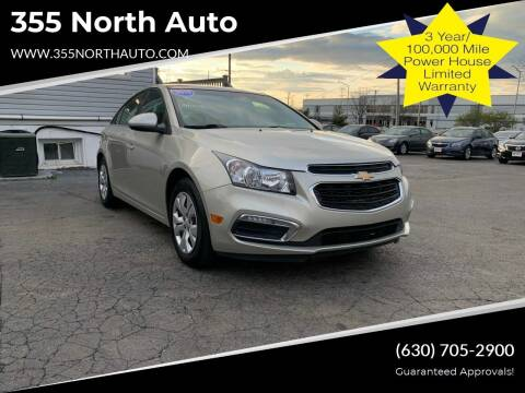 2015 Chevrolet Cruze for sale at 355 North Auto in Lombard IL