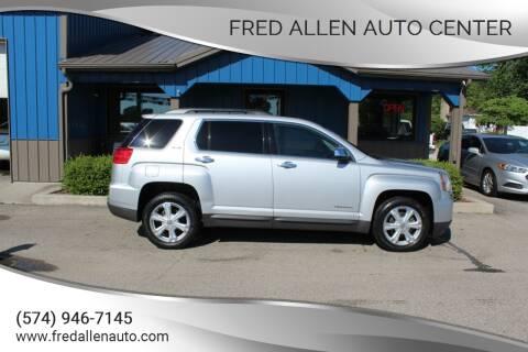 2016 GMC Terrain for sale at Fred Allen Auto Center in Winamac IN