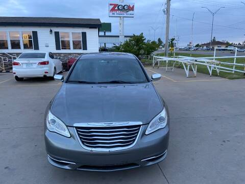 2012 Chrysler 200 for sale at Zoom Auto Sales in Oklahoma City OK