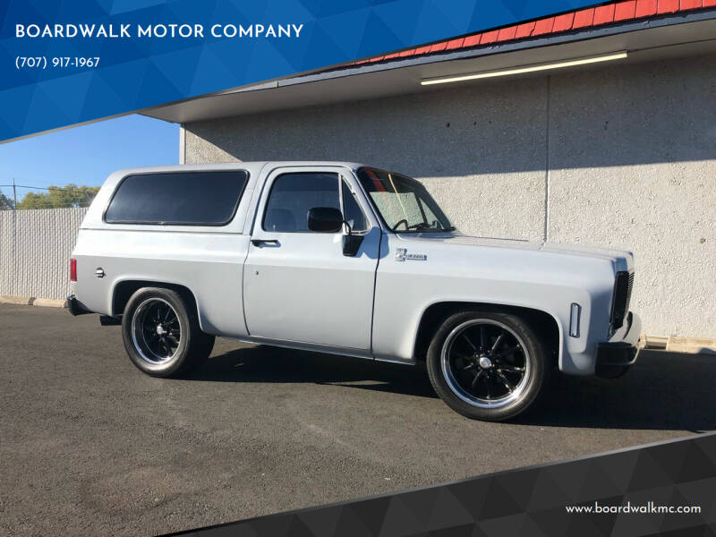 1977 Chevrolet Blazer for sale at BOARDWALK MOTOR COMPANY in Fairfield CA