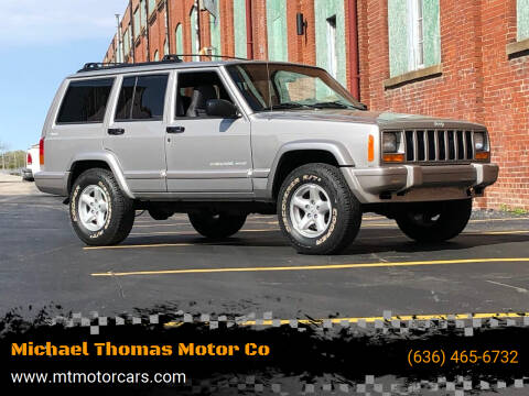 2001 Jeep Cherokee for sale at Michael Thomas Motor Co in Saint Charles MO