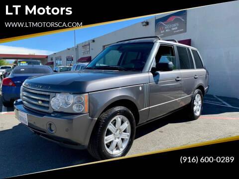 2006 Land Rover Range Rover for sale at LT Motors in Rancho Cordova CA