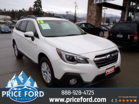 2018 Subaru Outback for sale at Price Ford Lincoln in Port Angeles WA