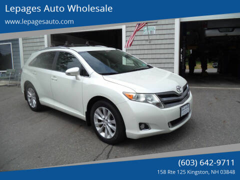 2013 Toyota Venza for sale at Lepages Auto Wholesale in Kingston NH