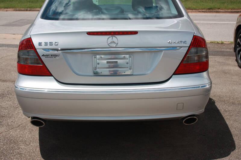 2008 Mercedes-Benz E-Class for sale at Auto Villa in Danville VA