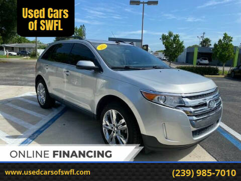 2012 Ford Edge for sale at Used Cars of SWFL in Fort Myers FL