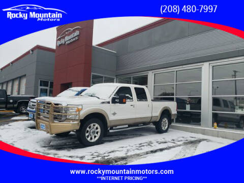 2011 Ford F-350 Super Duty for sale at Rocky Mountain Motors in Idaho Falls ID