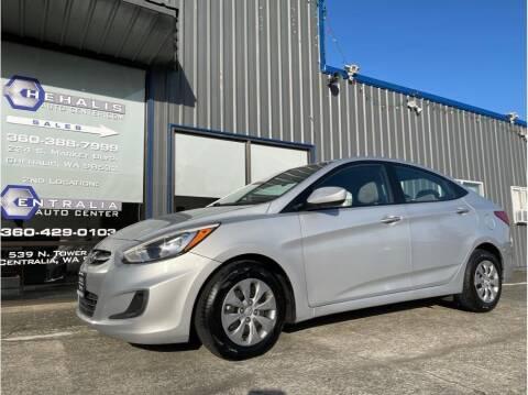 2017 Hyundai Accent for sale at Chehalis Auto Center in Chehalis WA