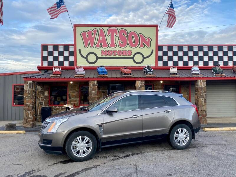 2012 Cadillac SRX for sale at Watson Motors in Poteau OK