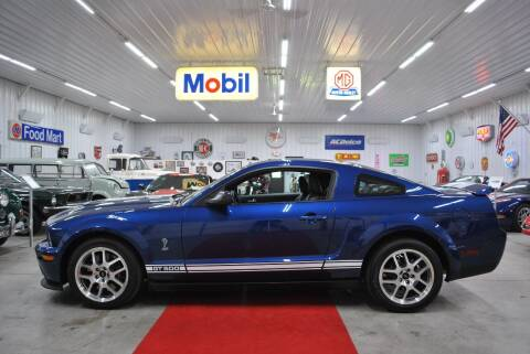 2008 Ford Shelby GT500 for sale at Masterpiece Motorcars in Germantown WI