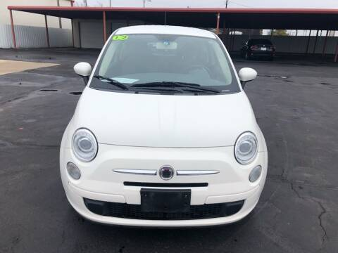 2012 FIAT 500 for sale at Moore Imports Auto in Moore OK