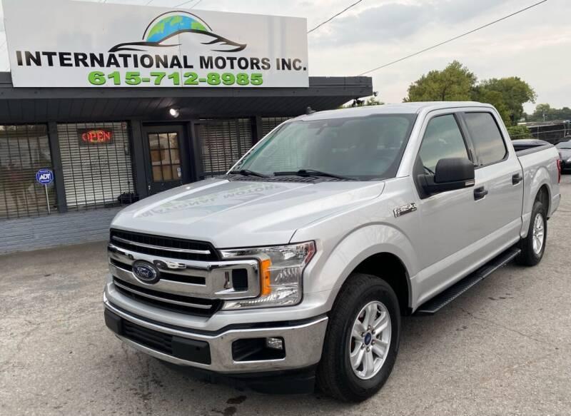 2019 Ford F-150 for sale at International Motors Inc. in Nashville TN