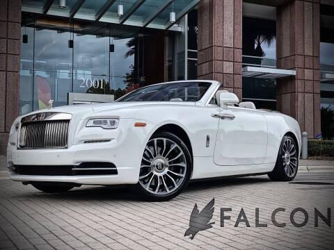 2018 Rolls-Royce Dawn for sale at FALCON MOTOR GROUP in Orlando FL
