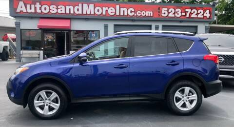 2014 Toyota RAV4 for sale at Autos and More Inc in Knoxville TN
