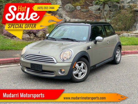 2009 MINI Cooper for sale at Mudarri Motorsports in Kirkland WA